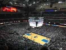 The Dallas Mavericks game - go Mavs!