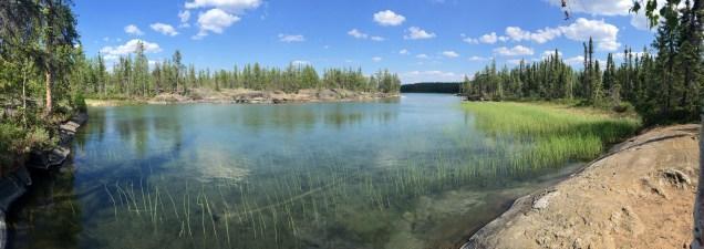 Hidden Lake (pretty magical)