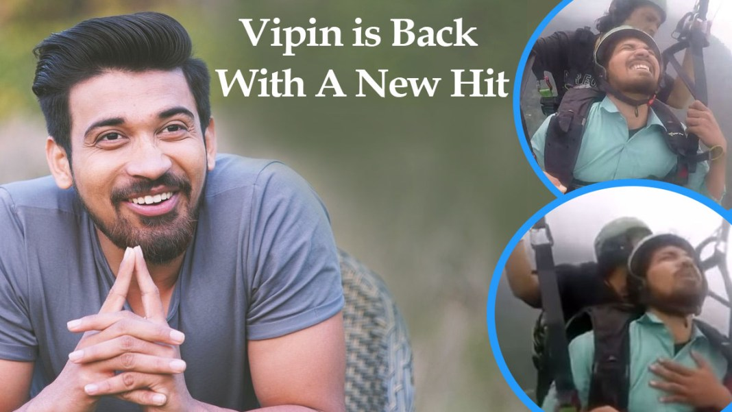 VIPIN IS BACK WITH NEW HIT
