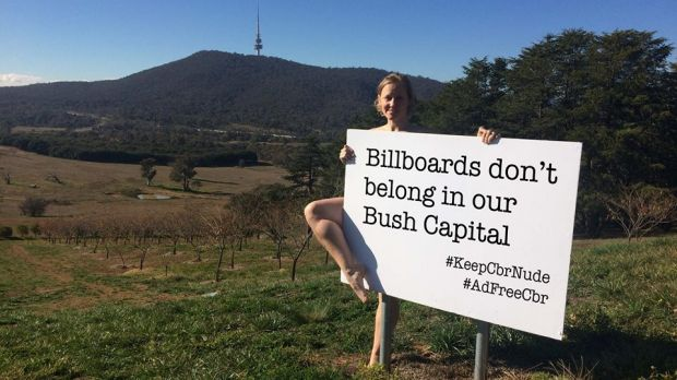 The fight to keep Canberra ad-free
