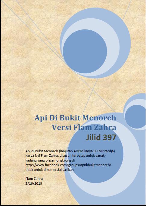 Lanjutan Adbm : lanjutan, FADBM-397, BUKIT, MENOREH