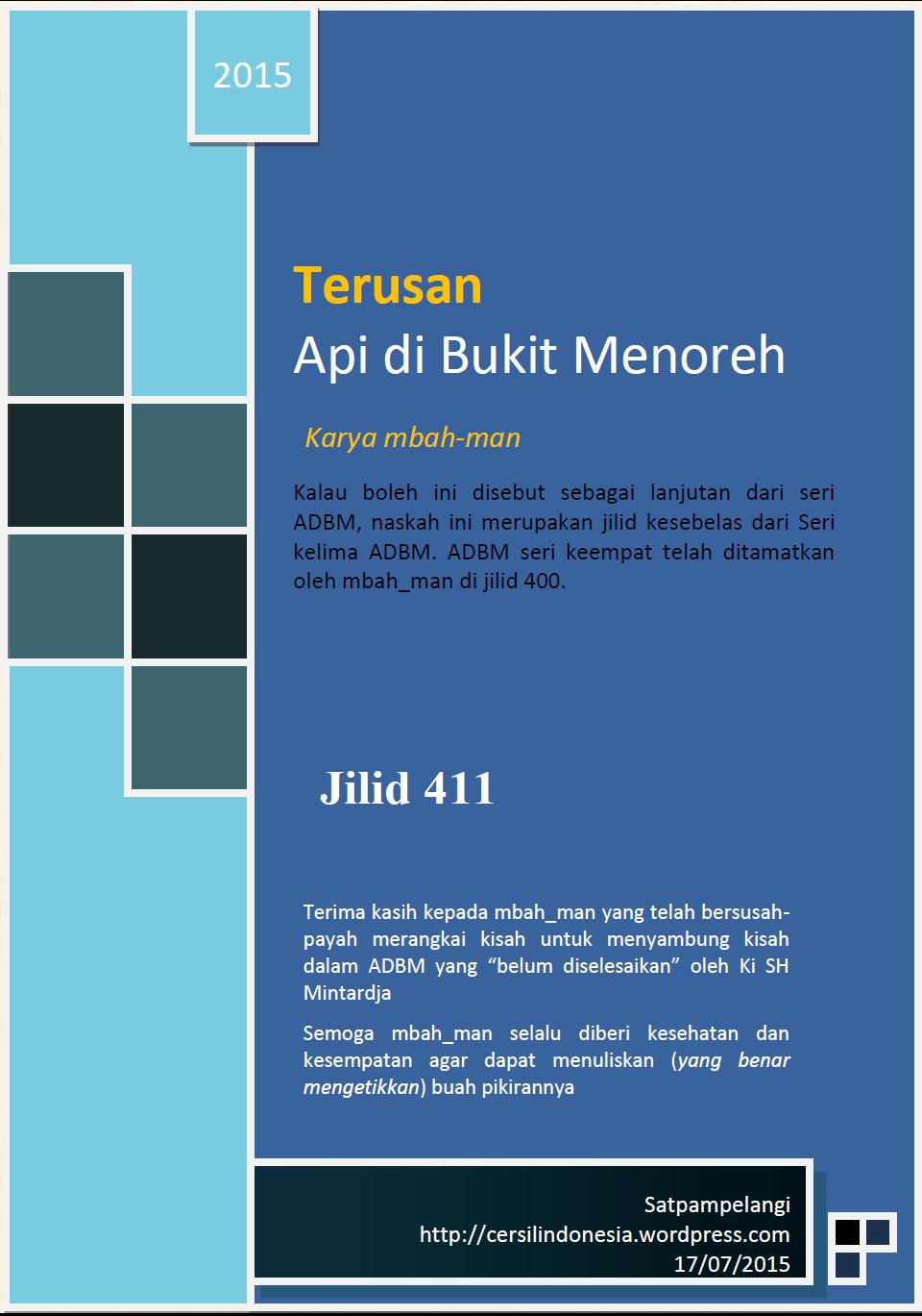 Lanjutan Adbm : lanjutan, TADBM-411, BUKIT, MENOREH