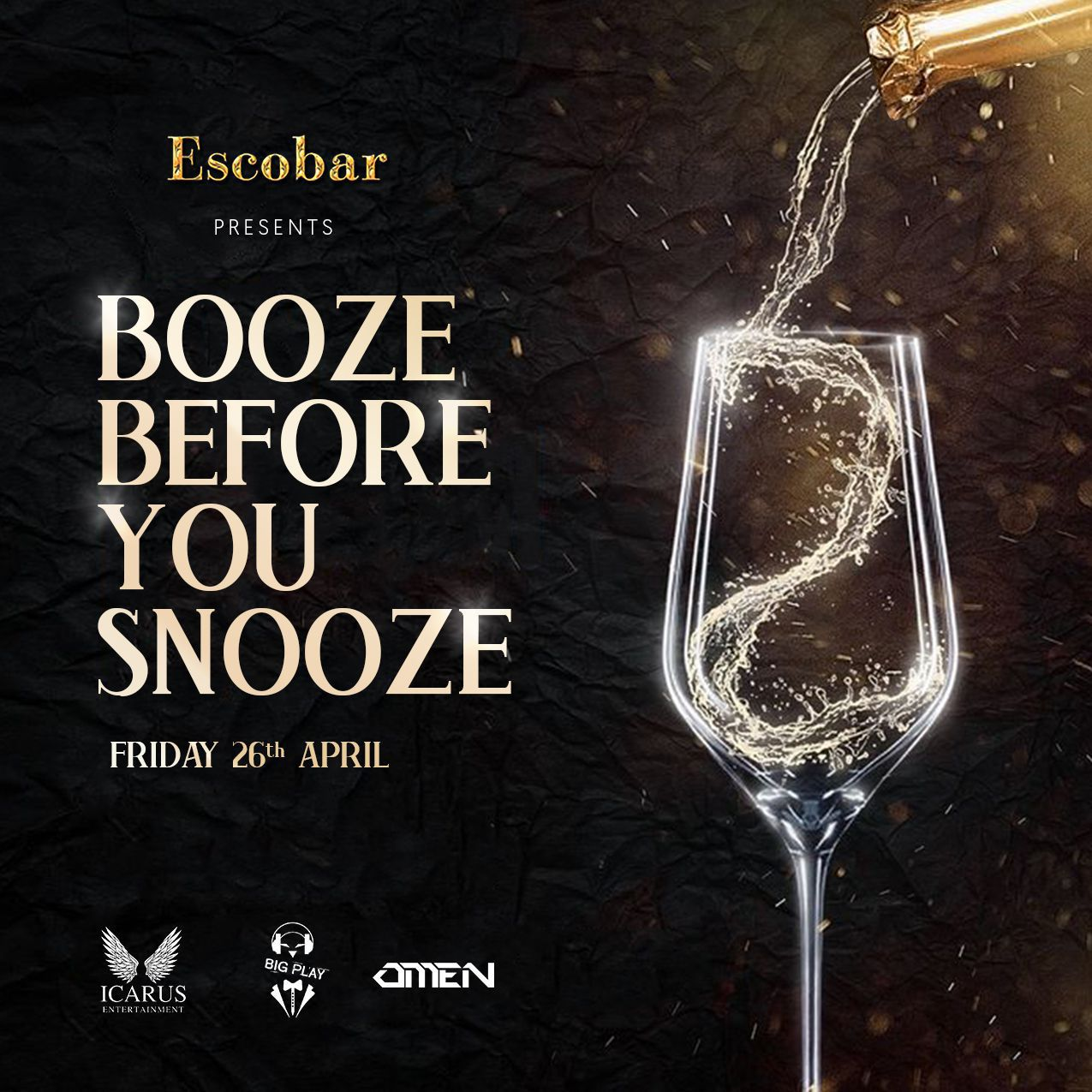 Booze before you Snooze
