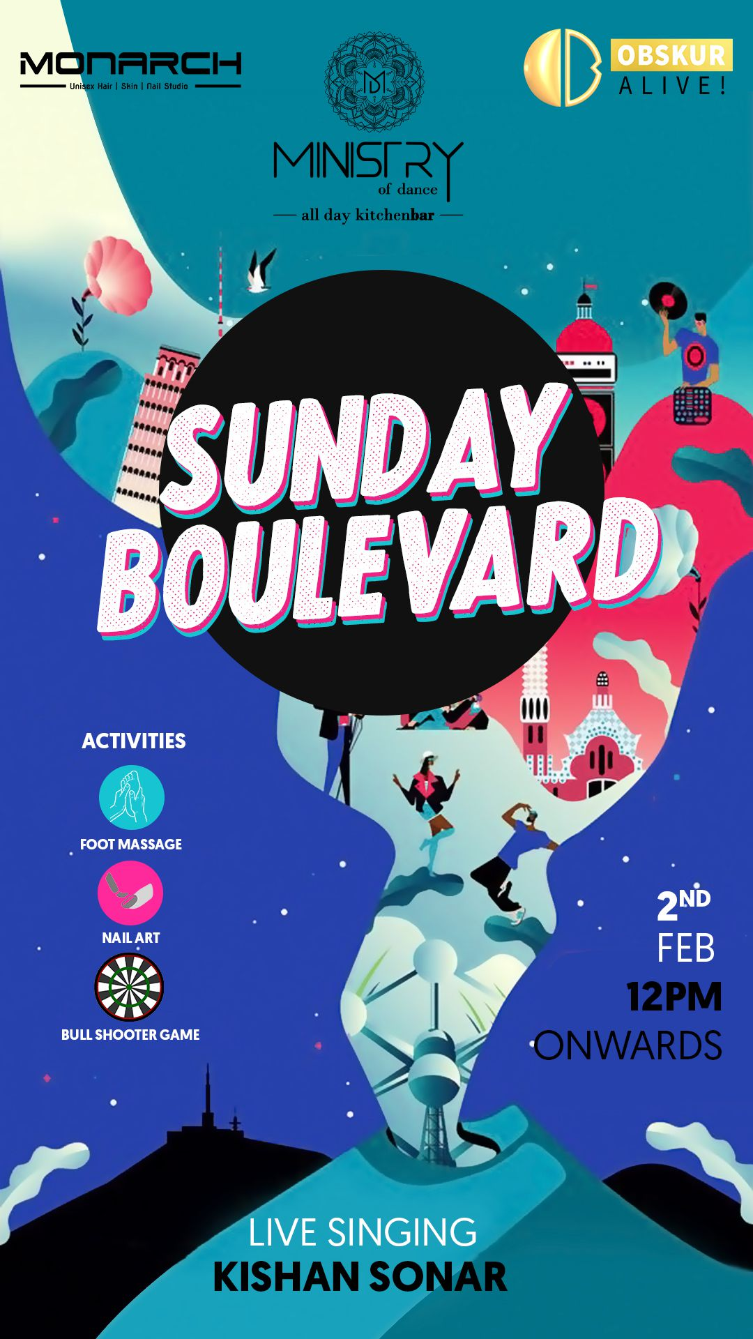 Sunday Boulevard Post Design