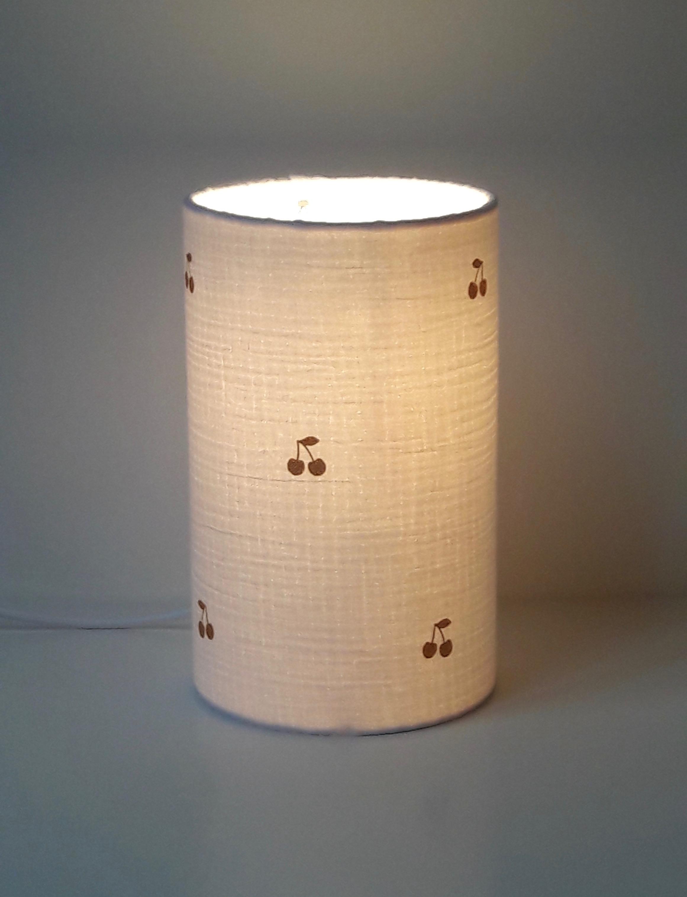 lampe totem cerises or sur www adc abat jour com