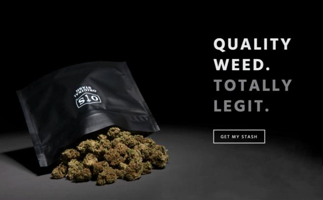 Original Stash cannabis packaging