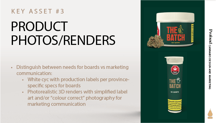Cannabis Product Photos and Renders