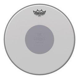 "Remo 18"" Coated Controlled Sound 'CS Black-Dot' Drum Head"