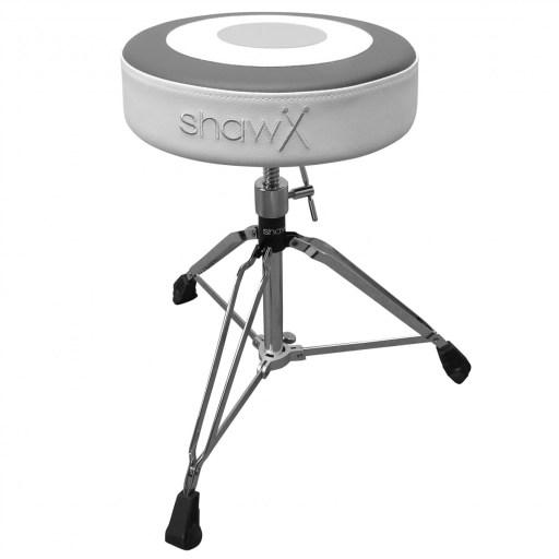 Shaw Monochrome 'Target' seat logo