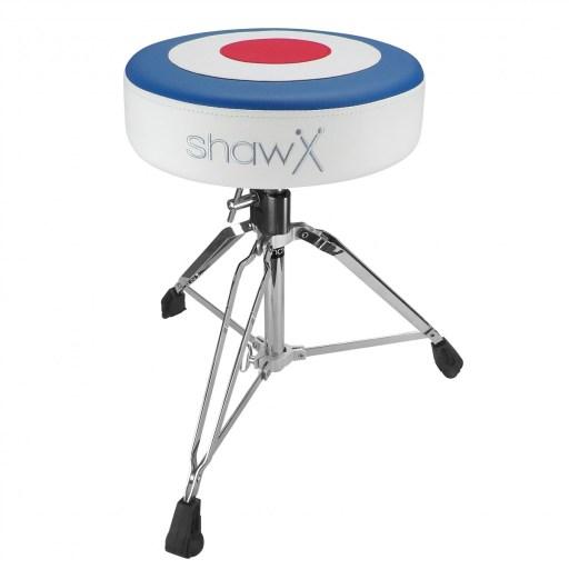 Shaw 3-Colour 'Target' Throne seat logo