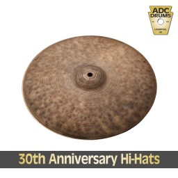 Istanbul 30th Anniversary Hi-Hat Cymbals