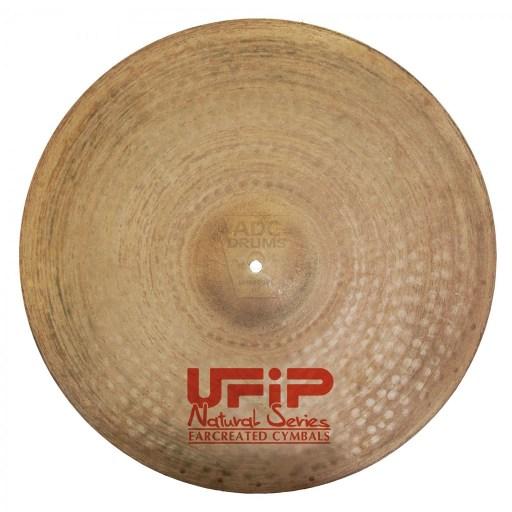 """UFIP Natural 21"""" Medium Ride Cymbal 1"""