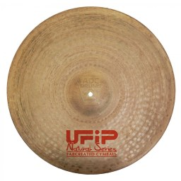 "UFIP Natural 22"" Medium Ride Cymbal 4"