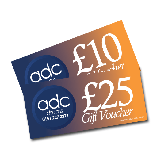 ADC Drums gift voucher