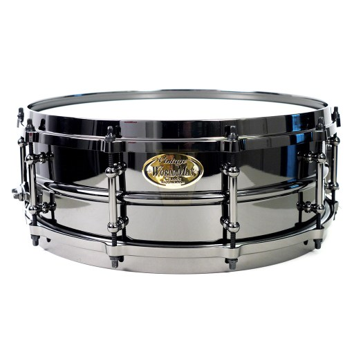 WorldMax-Black-Brass-Black-HW-DCH-14x5-Snare-Drum