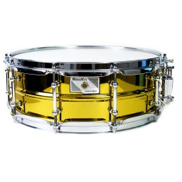 WorldMax-yellow-steel-Snare-Drum