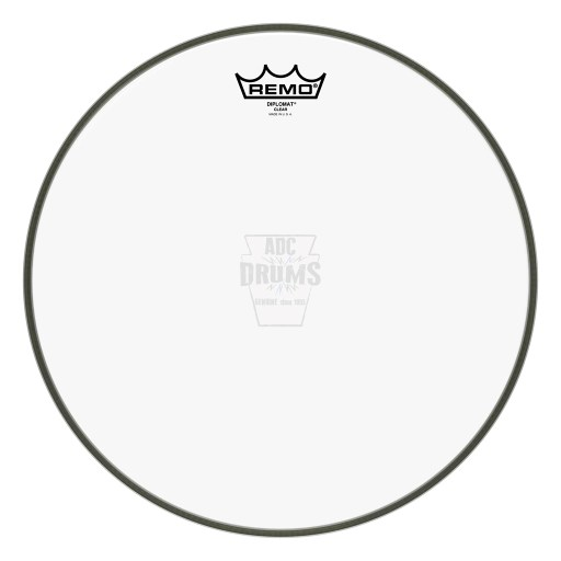 "Remo 18"" Clear Diplomat Drum Head"
