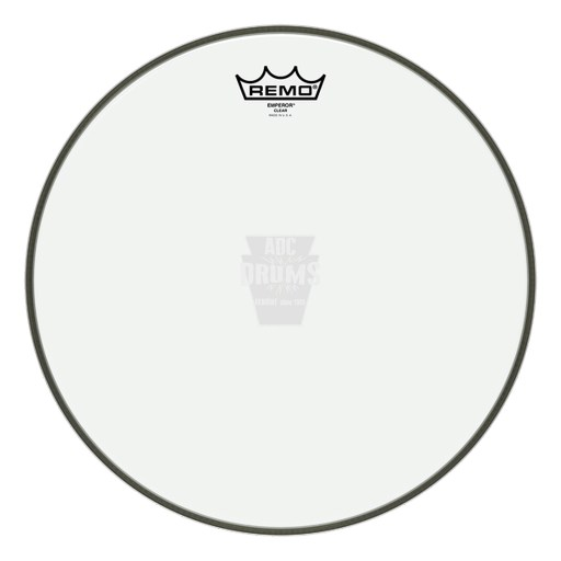 "Remo 26"" Clear Emperor Bass Drum Head"