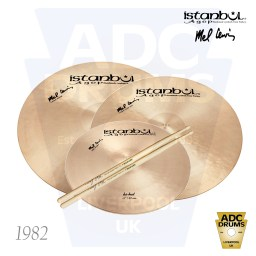 Istanbul Signature Mel Lewis 1982 Cymbal Pack