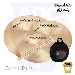 Istanbul Signature Mel Lewis Central Park Deluxe Cymbal Pack