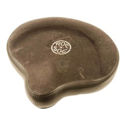 Roc-n-Soc Grey Motorcycle Seat Top