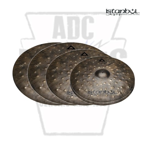 Istanbul Xist Dry Dark Terence Clark Cymbal Set