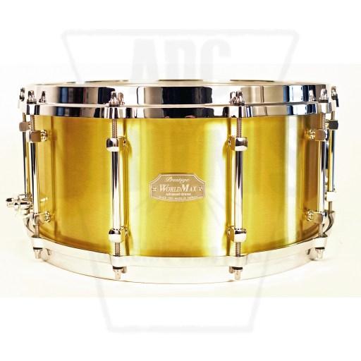 WorldMax Cast Brass Snare Drum