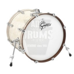 "Gretsch Renown Bass Drum: 18"" x 14"" in Vintage Pearl"