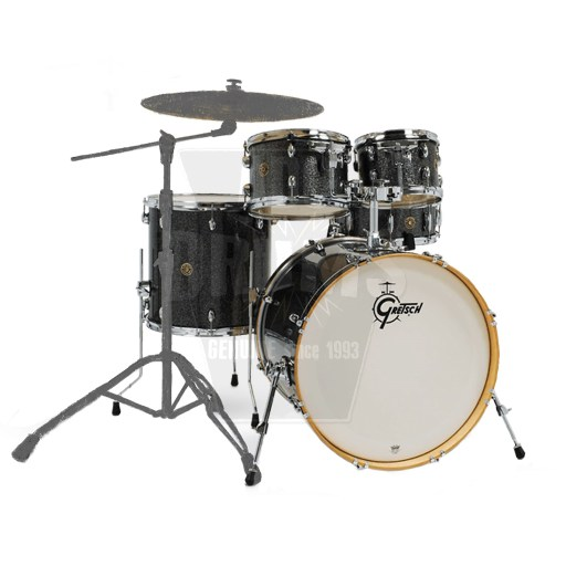 Gretsch Catalina Maple American_Fusion_Black_Stardust