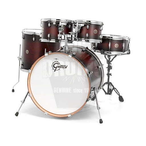Gretsch Catalina Maple American_Fusion_Satin_Deep_Cherry_Burst