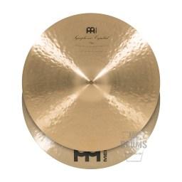 Meinl Symphonic 19-inch Medium-Heavy Clash Cymbals#1