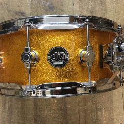 DW Performance Series Gold Sparkle Snare Drum