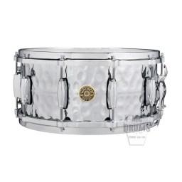 Gretsch USA Hammered Chrome-over-Brass 14 inch x 6.5 inch Snare Drum