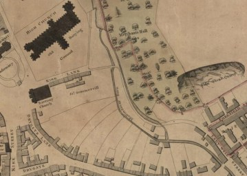 Extract from Peter-Flemings 1807 map of Glasgow