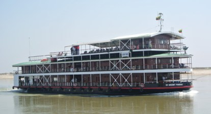 RV Orient Pandaw - a restored steamer from the Irrawaddy Flotilla Company