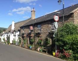 Porlock in Somerset