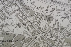 Canal Old Basin map, 1931
