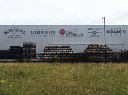 Edgelands, whisky and warehouse