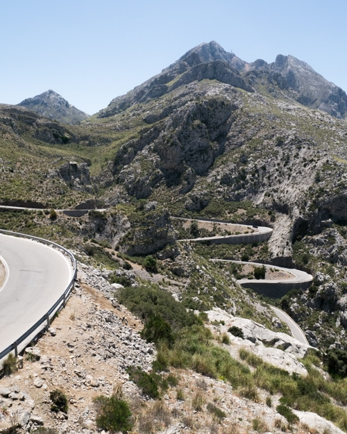 Roadtrip langs de westkust van Mallorca - Port de sa Colabra