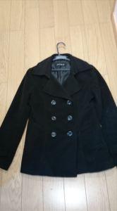 冬アウター定番レディースもので着回ししやすいコート4の2 Pコート