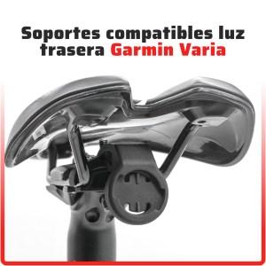 SOPORTES COMPATIBLES LUZ TRASERA GARMIN VARIA