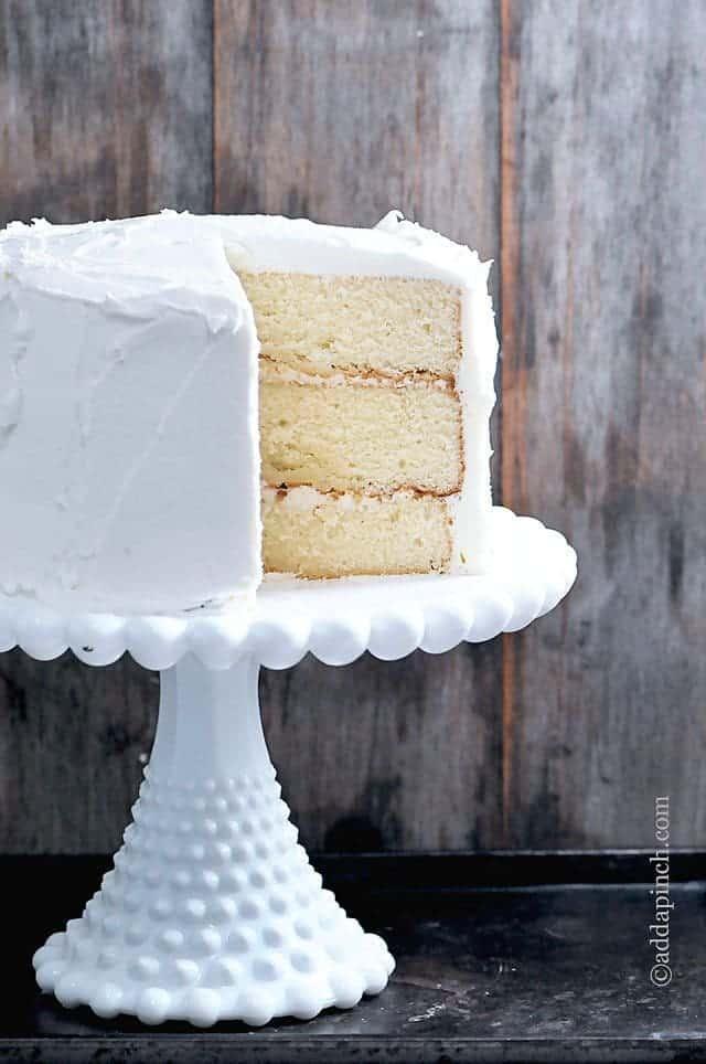 Classic Vanilla Buttercream Frosting Recipe - Add a Pinch