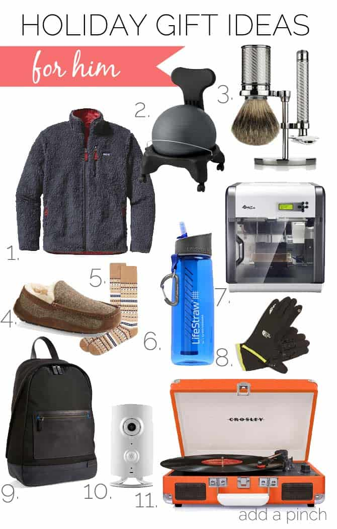 Holiday Gift Ideas For Him Add A Pinch