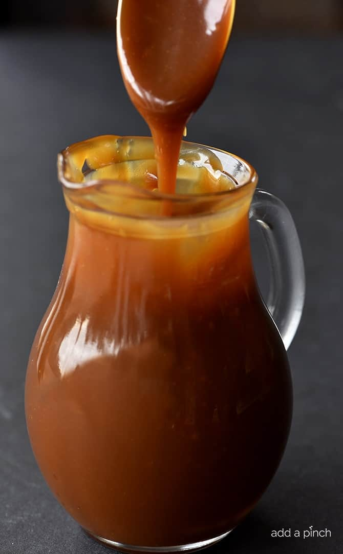 the easiest caramel sauce
