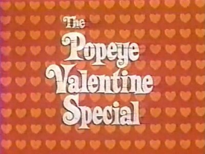 The Popeye Valentine Special Sweethearts At Sea The