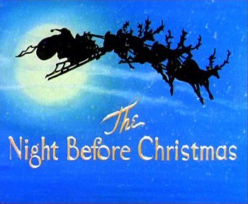 Cartoon Pictures And Video For The Night Before Christmas