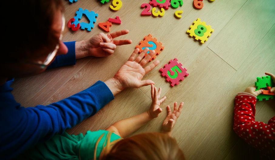如何引導幼兒學數學