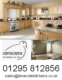 Dovecote kitchen logo for April 2014