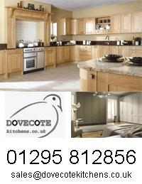 Dovecote kitchen logo for April 2014