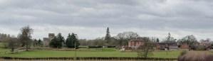 St Peter's Church across fields